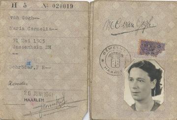 Persoonsbewijs tweede wereldoorlog